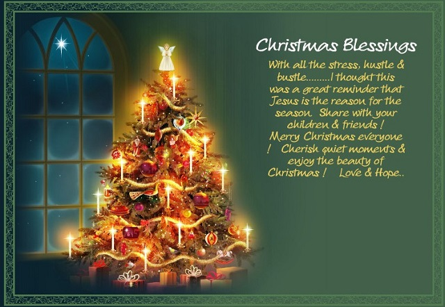 Merry Christmas Blessings Photos