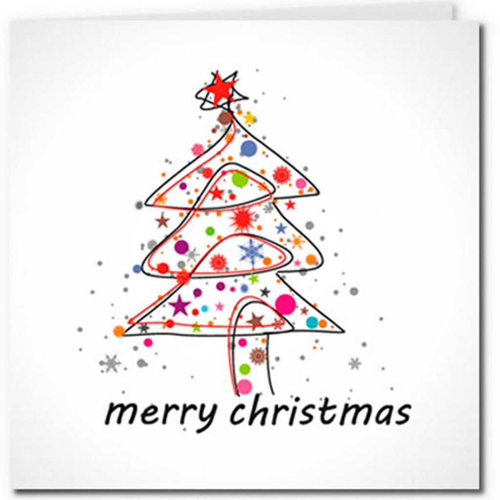 Merry Christmas Cards Images Printable