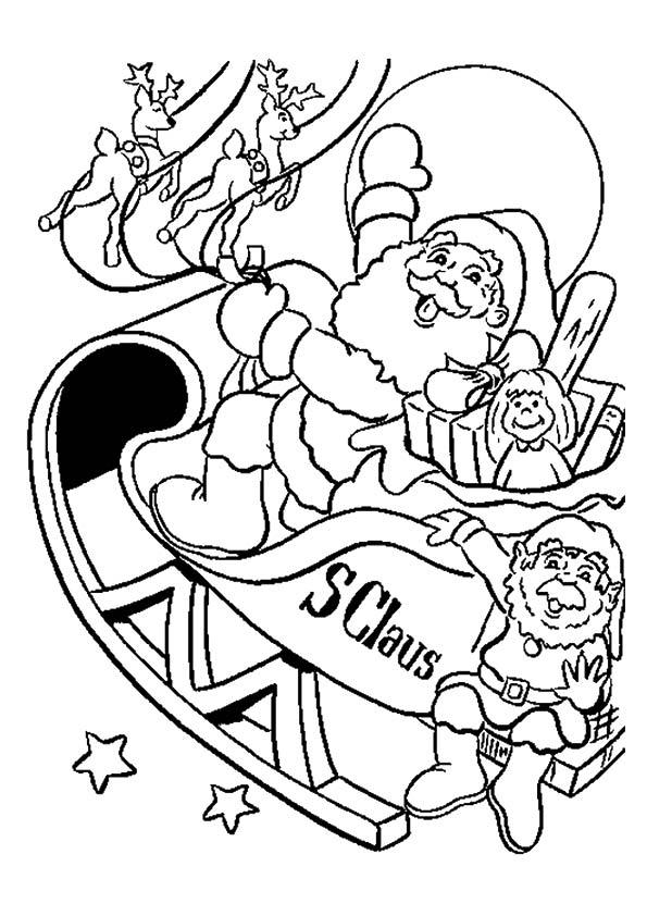 Christmas Sleigh Pic