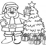 Santa Clause arrives on Christmas Day