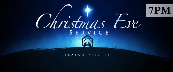 Christmas Eve Service Clipart
