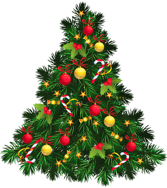 Christmas Tree Transparent Background