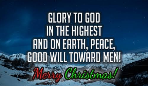 Free Religious Merry Christmas Images