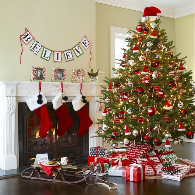 Images of Christmas Trees Decorated