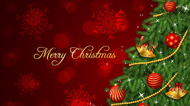Merry Christmas Background Wallpaper