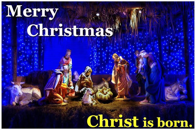 Merry Christmas Christ is Born