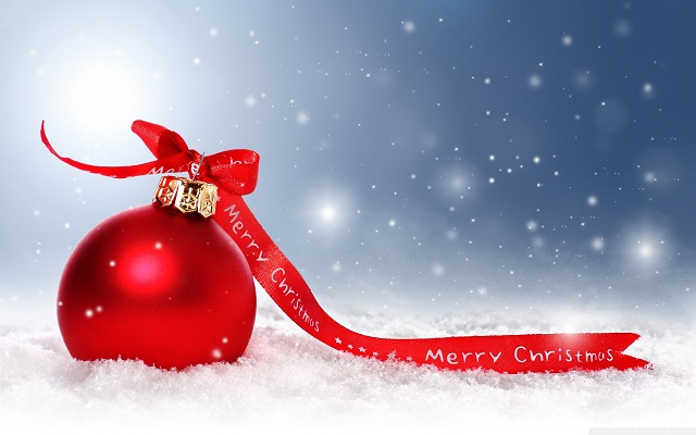 Merry Christmas Full HD Wallpaper