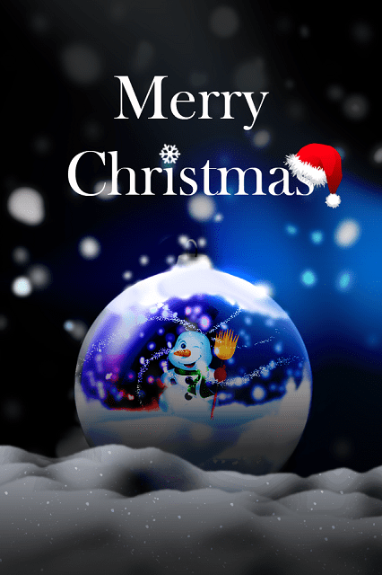 Merry Christmas Phone Wallpaper