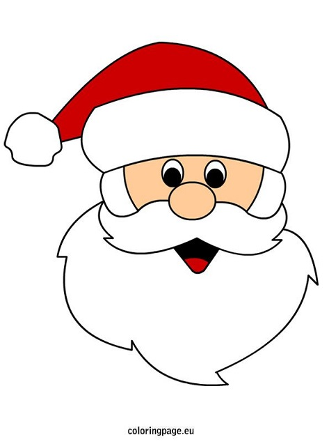 Picture of Santa Claus Face