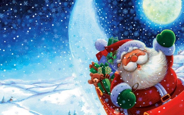 Santa Claus Wallpaper Download