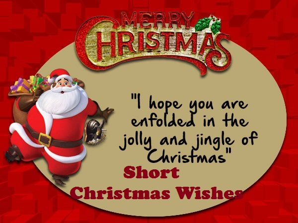 Short Christmas Wishes